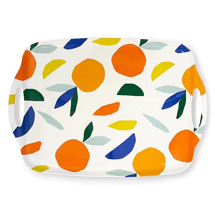 Alternate image 1 for kate spade new york Citrus Twist™ 20-Inch Melamine Serving Tray