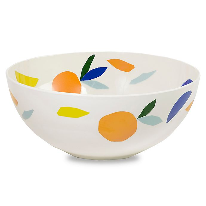 Kate Spade New York Citrus Twist Melamine Serving Bowl Bed Bath Beyond