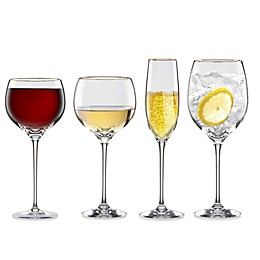 Lenox® Eternal® Gold Signature Lead Crystal Wine Glass Collection