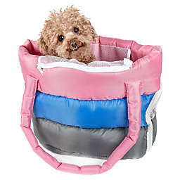 Pet Life™ Bubble-Poly Tri-Colored Insulated Pet Carrier