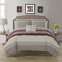 Nile 12-Piece Reversible Comforter Set