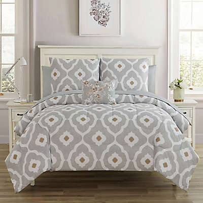 Sara 12-Piece Reversible Comforter Set