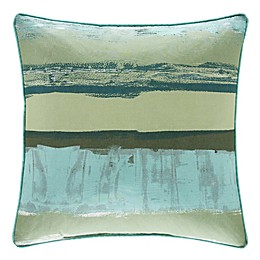 J. Queen New York™ Cordoba Square Throw Pillow in Forest