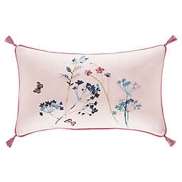 J. Queen New York™ Beatrice Oblong Throw Pillow in Rose