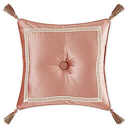 J. Queen New York™ Floral Park 18-Inch Square Throw Pillow in Blush