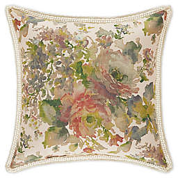 J. Queen New York™ Floral Park 20-Inch Square Throw Pillow in Blush