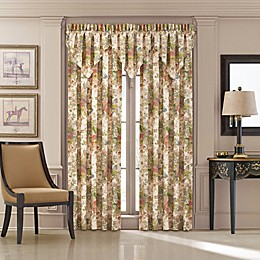 J. Queen New York™ Floral Park 84-Inch Rod Pocket Window Curtain Panel Pair in Blush