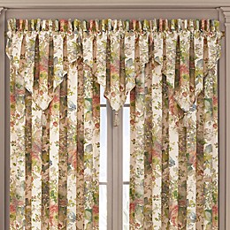 J. Queen New York™ Floral Park Ascot Window Valance in Blush
