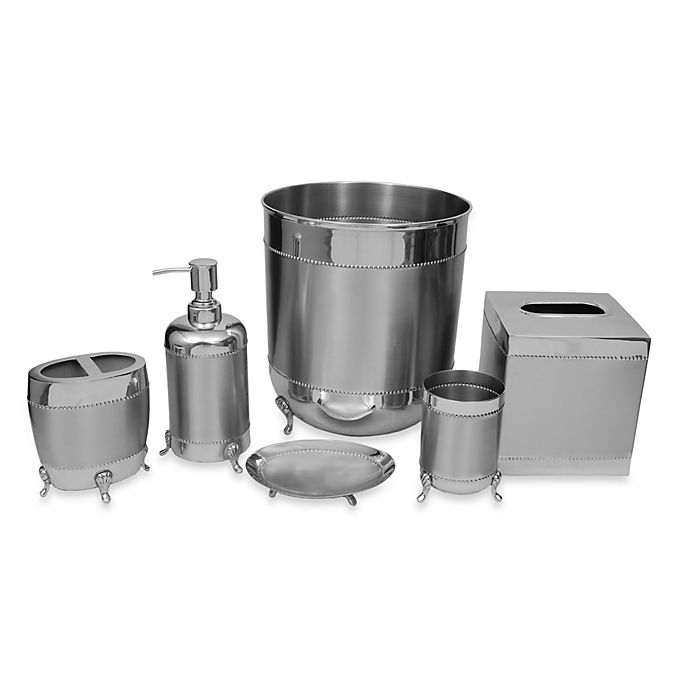 Alternate image 1 for Austria Stainless Steel Bath Ensemble