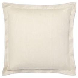 Lauren Ralph Lauren Allaire Linen Square Throw Pillow in Grey