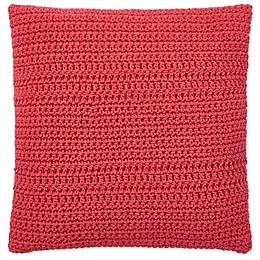 Lauren Ralph Lauren Lucie Square Throw Pillow in Red