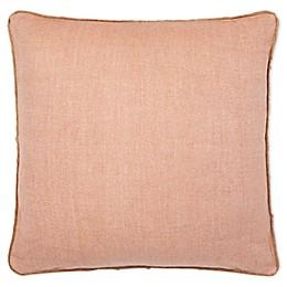 Lauren Ralph Lauren Hadley Square Throw Pillow in Orange