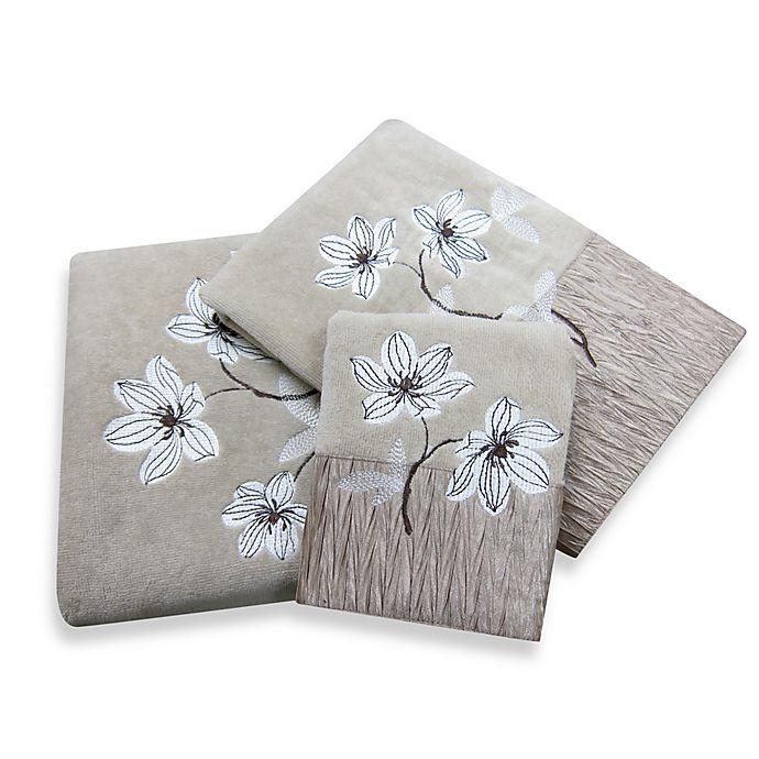 Croscill Magnolia Bath Towel Collection Bed Bath Beyond