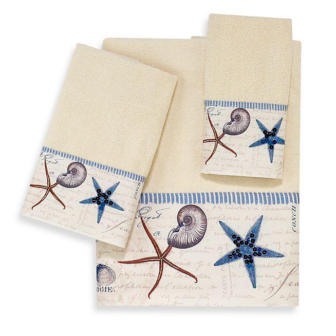 Alternate image 1 for Avanti Antigua Hand Towel in Ivory