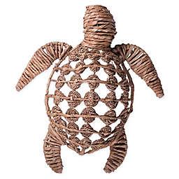 Home Essentials & Beyond Grass Turtle Wall Sculpture