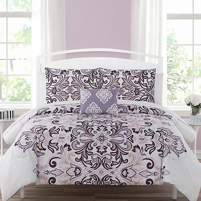 Alternate image 1 for Carine 12-Piece Reversible Comforter Set