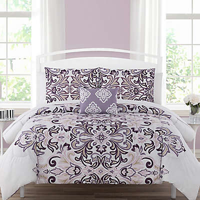 Carine 12-Piece Reversible Comforter Set