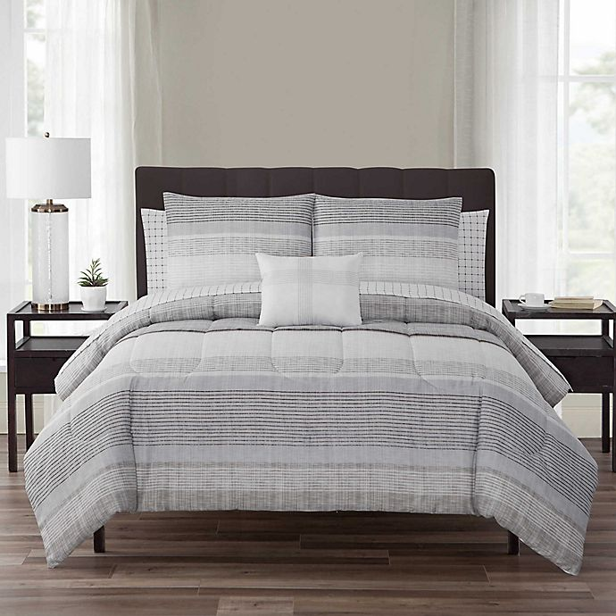 Alternate image 1 for Nile 12-Piece Reversible Comforter Set