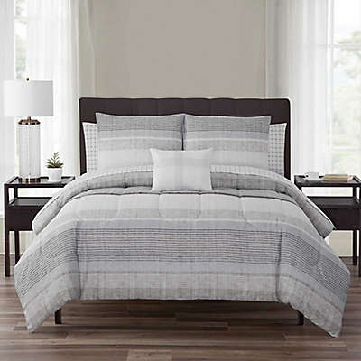 Nile 12-Piece Reversible Comforter Set