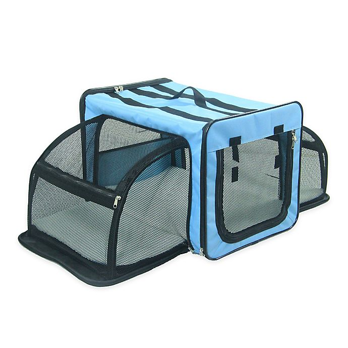 Alternate image 1 for Pet Life™ Expandable Dog Crate