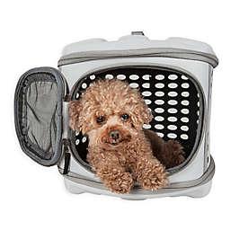 Pet Life™ Circular Shell Perforate Collapsible Pet Carrier