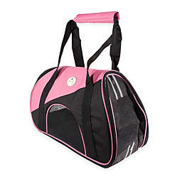 Airline Approved Zip-N-Go Contoured Pet Carrier in Pink