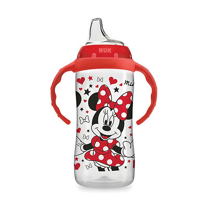 Alternate image 1 for NUK® Disney® 10 oz. Minnie Mouse Learner Cup in Red