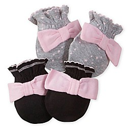 Gerber® Size 0-3M 2-Pack Mittens