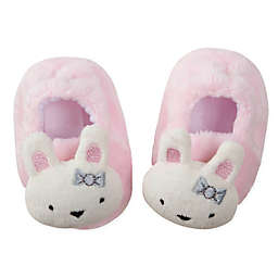 Gerber® Size 0-6M Bunny Velboa Booties in Pink