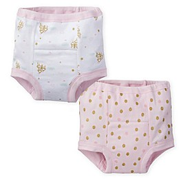 Gerber® 2-Pack Princess Training Pants in Pink