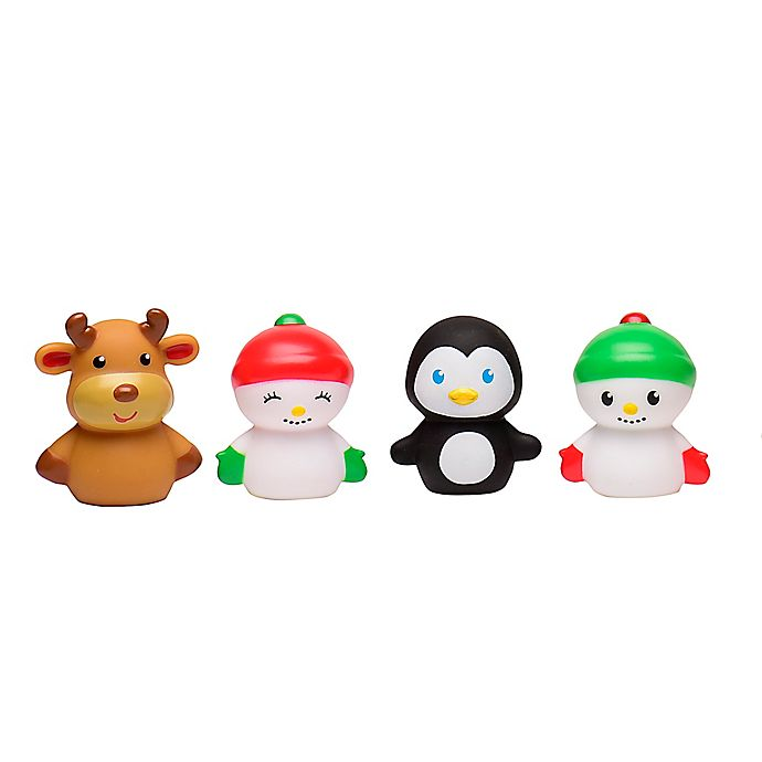 Alternate image 1 for 4-Piece Holiday Finger Puppets