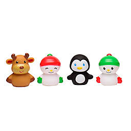 4-Piece Holiday Finger Puppets