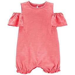 carter's® Size 18M Cold Shoulder Romper in Pink