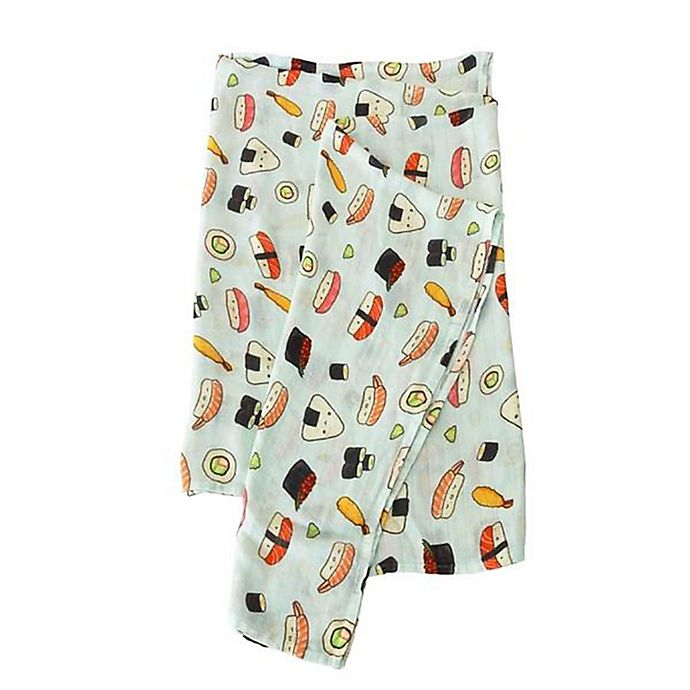 Alternate image 1 for Loulou Lollipop Sushi Swaddle Blanket
