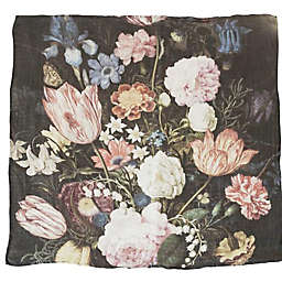 Loulou Lollipop Tuscan Floral Swaddle Blanket