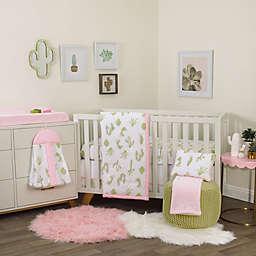 NoJo® Dreamer Cactus 8-Piece Crib Bedding Set in Pink