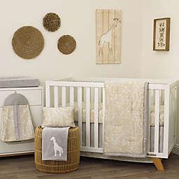 NoJo® Dreamer Modern Safari Crib Bedding Set in Tan