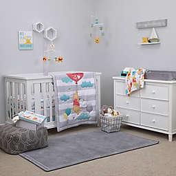 Disney® Winnie the Pooh First Best Friends 4-Piece Crib Bedding Set in Aqua