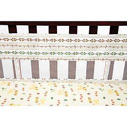 Disney® Lion King Under the Sun 4-Piece Secure-Me Crib Liner Set in Tan