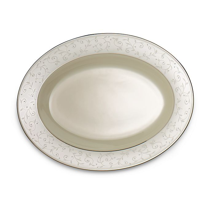 Alternate image 1 for Lenox® Pearl Innocence™ 13-Inch Oval Platter