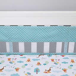 Disney® Winnie the Pooh First Best Friends 4-Piece Secure-Me Crib Liner Set in Aqua