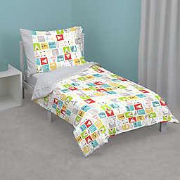 Zutano® Teepee Toddler Bedding Set in Grey