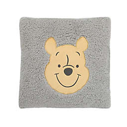 Disney® Winnie the Pooh Sherpa Decorative Pillow in Grey