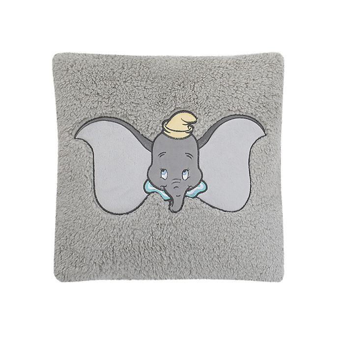 Alternate image 1 for Disney® Dumbo Sherpa Decorative Pillow in Grey