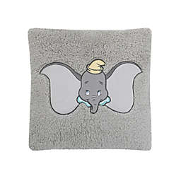 Disney® Dumbo Sherpa Decorative Pillow in Grey
