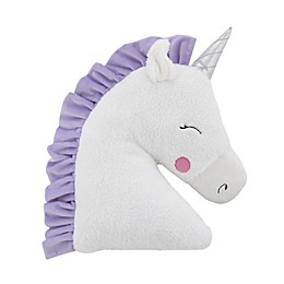 Little Love by NoJo® Unicorn Throw Pillow in White