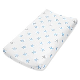 aden® by aden + anais® Dapper Changing Pad Cover in Blue