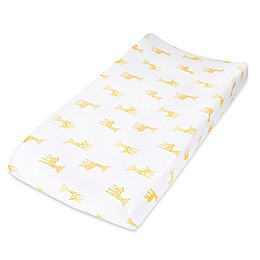 aden® by aden + anais® Giraffe Changing Pad Cover in Yellow