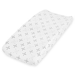 aden + anais® Lovestruck Changing Pad Cover in Grey