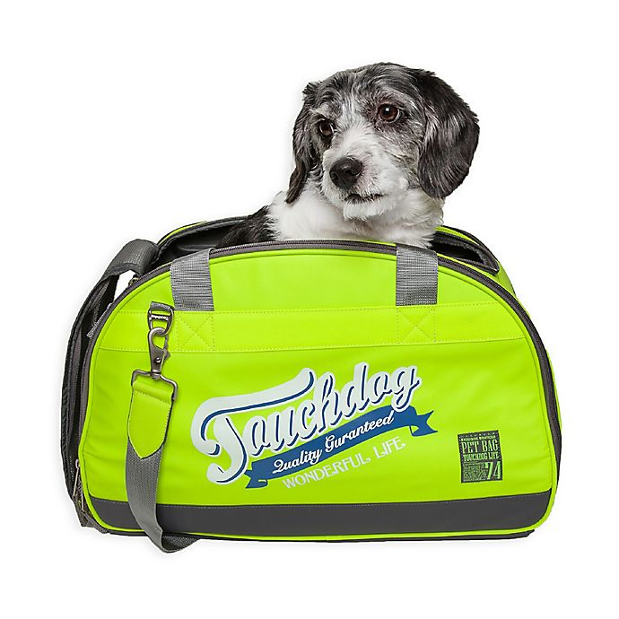 Alternate image 1 for Touchdog Wick-Guard Water Resistant Pet Carriers